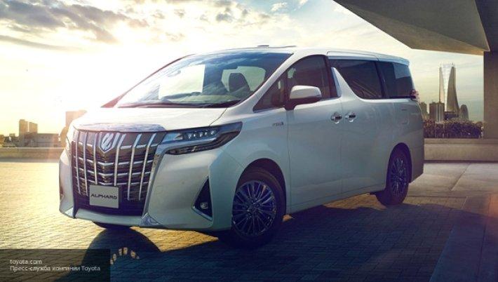 Новая Toyota Majesty: самый роскошный Hiace